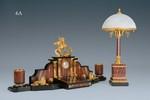 Вариант письменного прибора в комплекте с настольной лампой